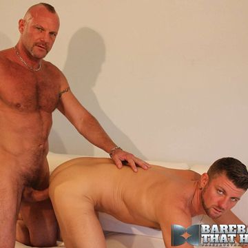 Bareback muscle daddy Chad Brock slams Christian | Daily Dudes @ Dude Dump