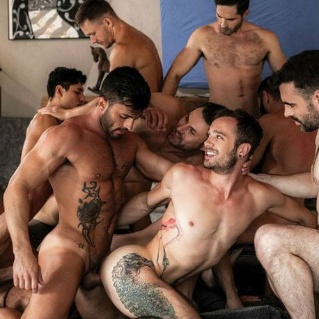bareback orgy with Drake Rogers and many more | Daily Dudes @ Dude Dump