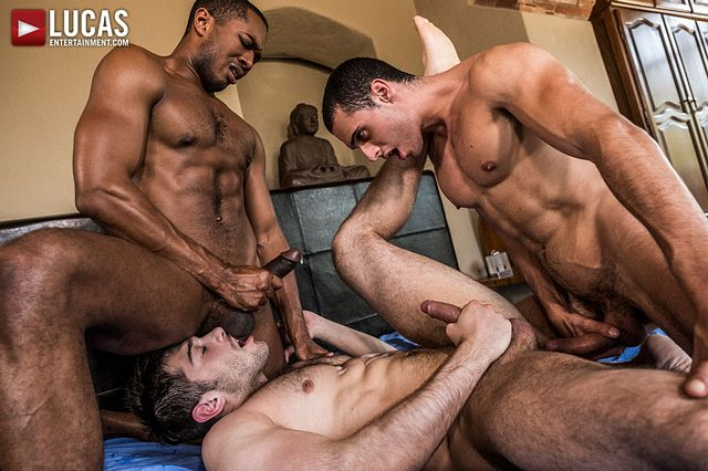 Bareback threesome with Sean, Javi and Ben! | Daily Dudes @ Dude Dump