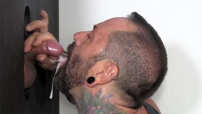 Beefy Asian gets his balls drained | Daily Dudes @ Dude Dump