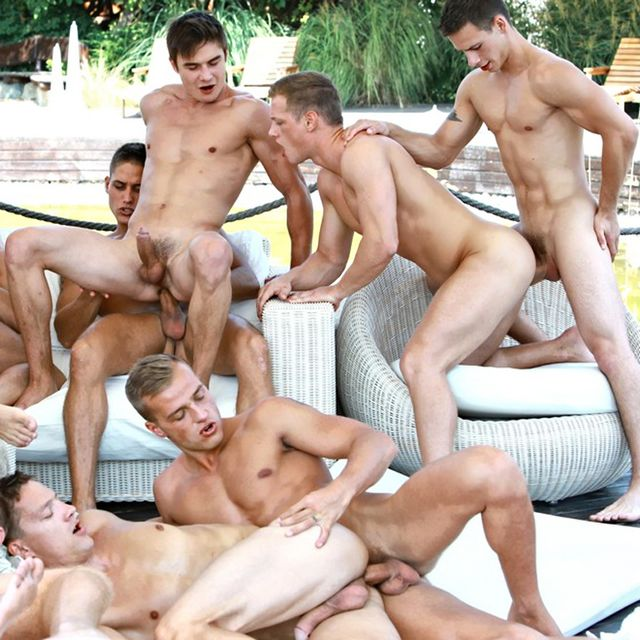 Belami's Biggest Orgy Ever with 24 Guys! | Daily Dudes @ Dude Dump