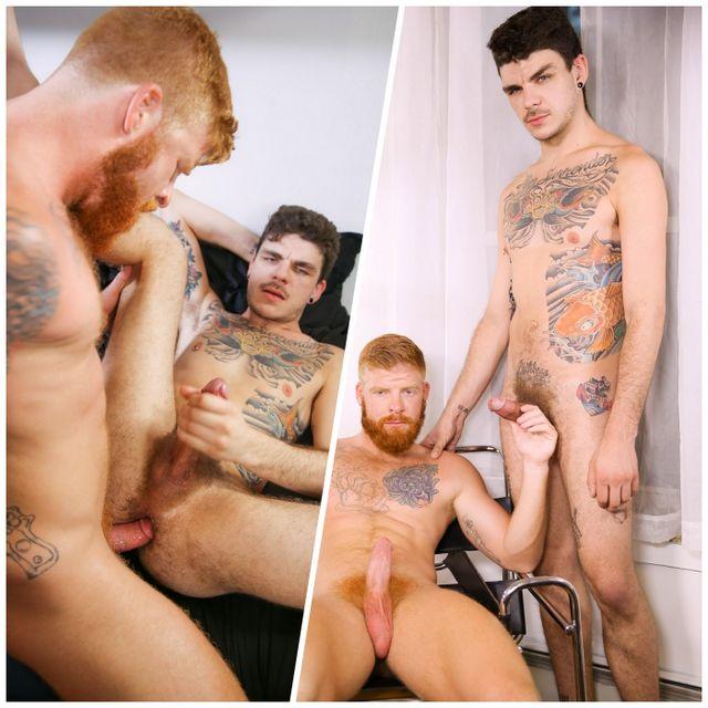 Bennett Bangs Luke's Butt! | Daily Dudes @ Dude Dump
