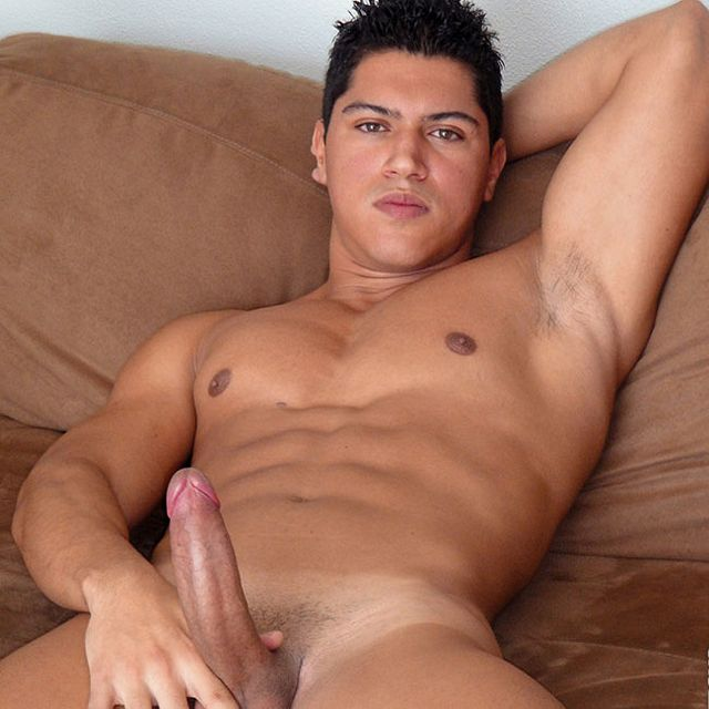 Big-Dicked Brazilian Hits The Casting Couch | Daily Dudes @ Dude Dump