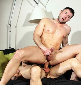 Big-Dicked Stud Shane Stone Fucks Yohann's Ass | Daily Dudes @ Dude Dump
