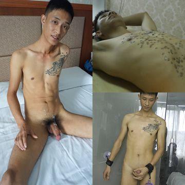 Bigcock Slim Asian Guy Bound Cum | Daily Dudes @ Dude Dump