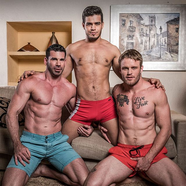 Billy Santoro, Shawn Reeve & Rico Marlon | Daily Dudes @ Dude Dump