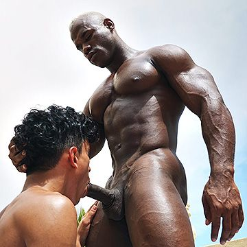 Black Hunk Fucks Twink | Daily Dudes @ Dude Dump
