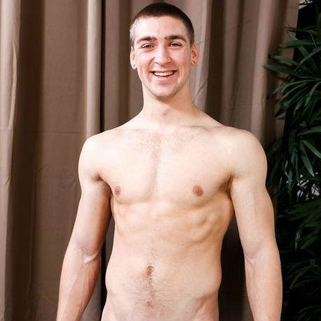 Blaine Jameson drops his clothes he starts jerking   Daily Dudes @ Dude Dump