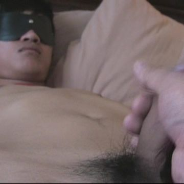 Blindfold Twink Handjob | Daily Dudes @ Dude Dump
