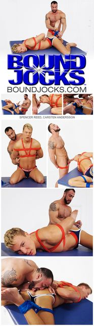 Bound Jocks: Spencer Reed and Carsten Andersson | Daily Dudes @ Dude Dump
