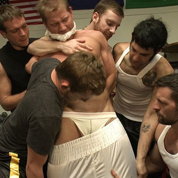 Boxing Gym Gang Bang | Daily Dudes @ Dude Dump