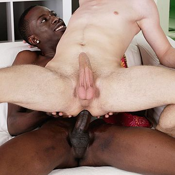 Boy Rides Black 10 Inch Dick | Daily Dudes @ Dude Dump