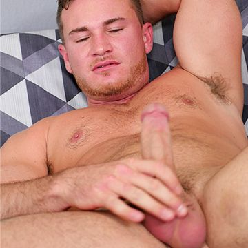 Brenden Steel works his dick for us | Daily Dudes @ Dude Dump