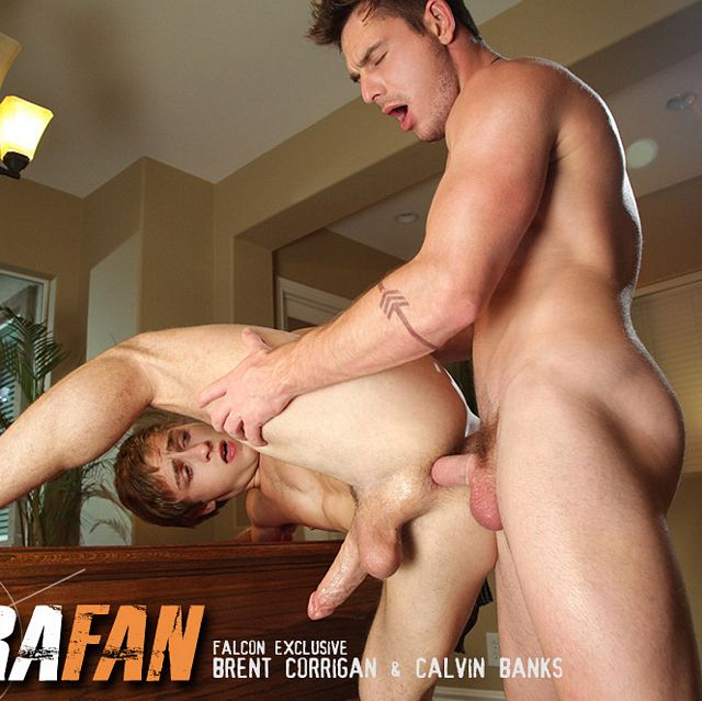 Brent Corrigan and Calvin Banks Flip Fuck | Daily Dudes @ Dude Dump
