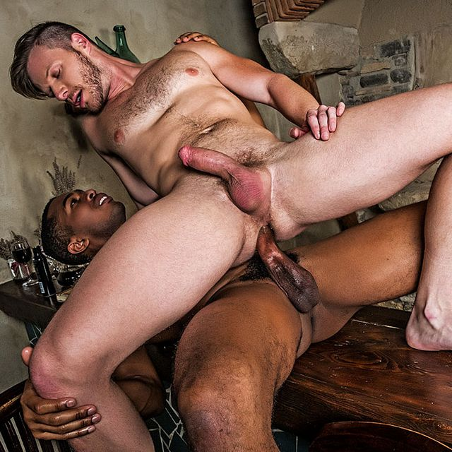 Brian Bonds Rides Raw Black Cock of Sean Xavier | Daily Dudes @ Dude Dump