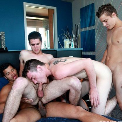 Broke straight boys orgy | Daily Dudes @ Dude Dump