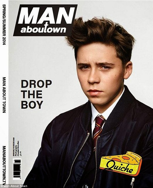 Brooklyn Beckham for Man About Town | Daily Dudes @ Dude Dump