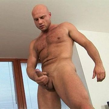 Bruce Shows Off His Ripped Body & Strokes Big Cock | Daily Dudes @ Dude Dump