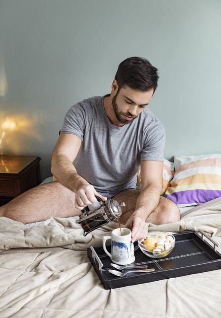 Bruno Alvarez Ladd In A Goodmorning Moments | Daily Dudes @ Dude Dump