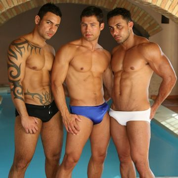 Bumping boners at the bathhouse   Daily Dudes @ Dude Dump