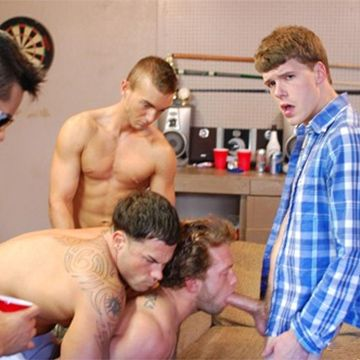 Carter & Trevor Force-Fucked & Seeded | Daily Dudes @ Dude Dump