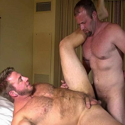 Chance Fucks Aaron Bruiser's Hot Fuzzy Ass | Daily Dudes @ Dude Dump