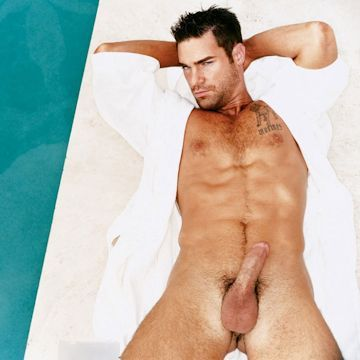 Charles Dera in the pool | Daily Dudes @ Dude Dump