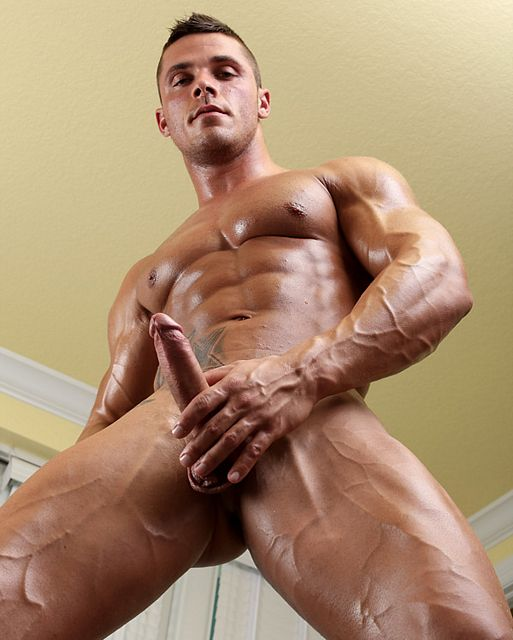 Cheeky muscle boy Joey van Damme masturbates! | Daily Dudes @ Dude Dump