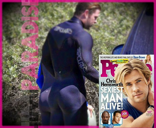Chris Hemsworth's amazing bubble butt! | Daily Dudes @ Dude Dump