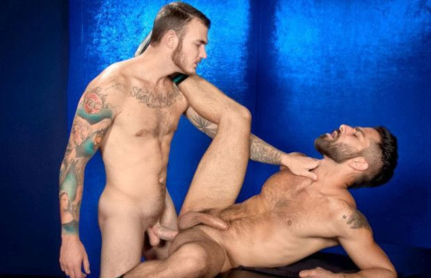 Christian Wilde fucks Adam Ramzi | Daily Dudes @ Dude Dump