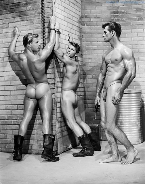 Classic Men Posing For Bob Mizer – AMG | Daily Dudes @ Dude Dump