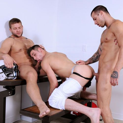 Colby and Rod fuck Duncan | Daily Dudes @ Dude Dump