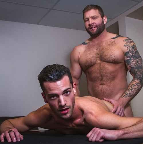 "Colby Jansen Bangs Cory Kane in ""Strip Foosball | Daily Dudes @ Dude Dump"