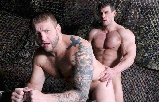 Colby Jansen bottoms for Zeb Atlas | Daily Dudes @ Dude Dump