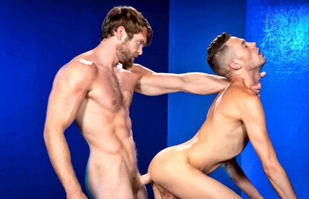 Colby Keller fucks Levi Madison | Daily Dudes @ Dude Dump