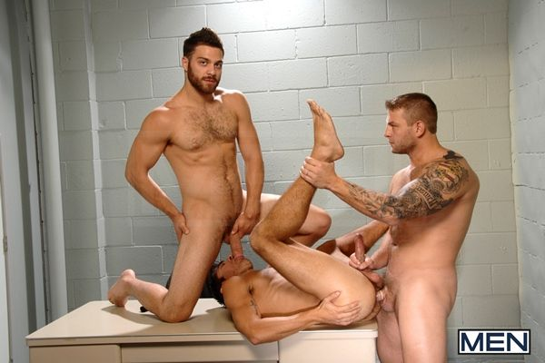 Colby, Tommy & Dale Hot threesome | Daily Dudes @ Dude Dump