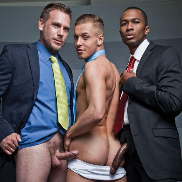 Colden gets double penetrated | Daily Dudes @ Dude Dump