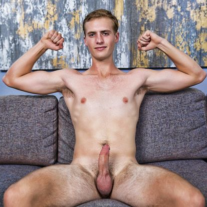 College Stud Parker is Boned Up and Naked! | Daily Dudes @ Dude Dump