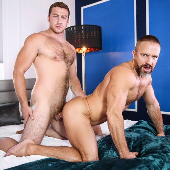 Connor Maguire fucks Dirk Caber | Daily Dudes @ Dude Dump