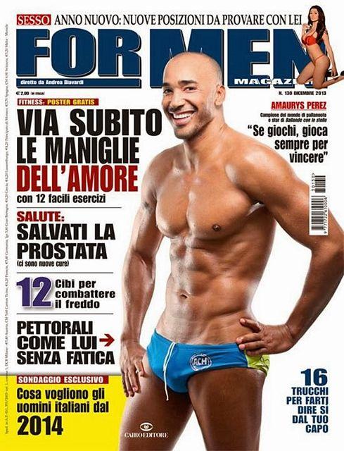 Cover boy: Amaurys Pérez | Daily Dudes @ Dude Dump
