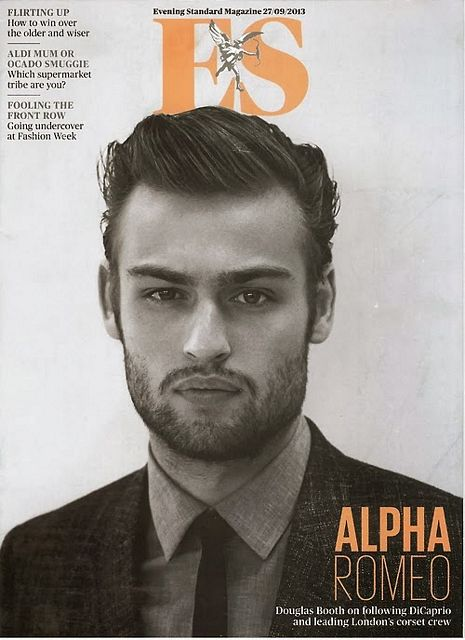 Cover boy: Douglas Booth 4 ES Magazine | Daily Dudes @ Dude Dump