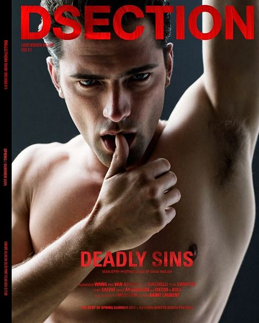 Cover models: Sean O'Pry | Daily Dudes @ Dude Dump