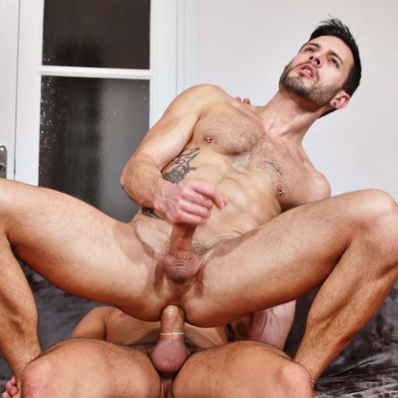 Cristian plows Andy's hole | Daily Dudes @ Dude Dump