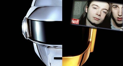 DAFT PUNK real faces! | Daily Dudes @ Dude Dump