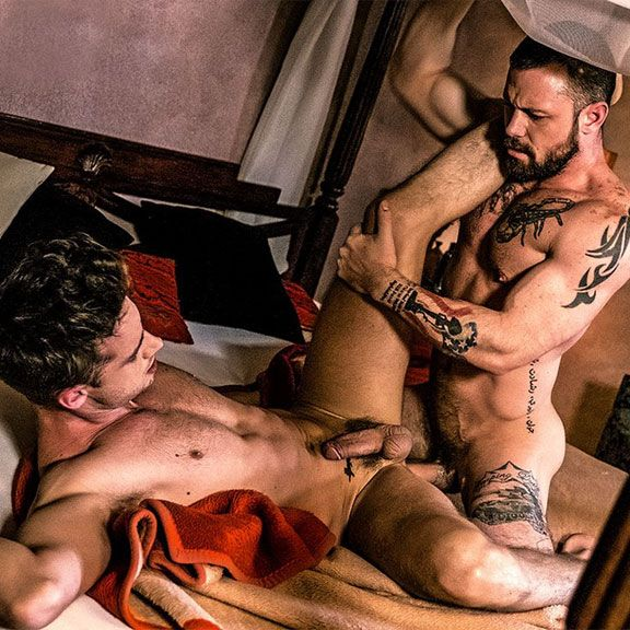 Damon Heart and Sergeant Miles fuck | Daily Dudes @ Dude Dump