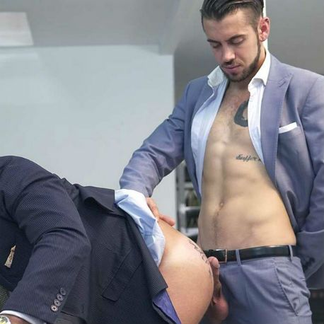 """Dani Robles and Dante Colle in """"The Connoisseur 