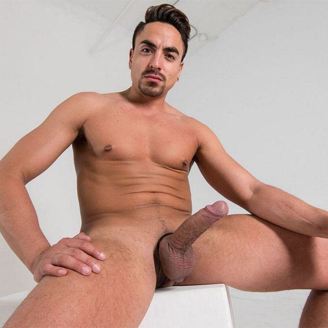 Daniel strokes his huge cock | Daily Dudes @ Dude Dump