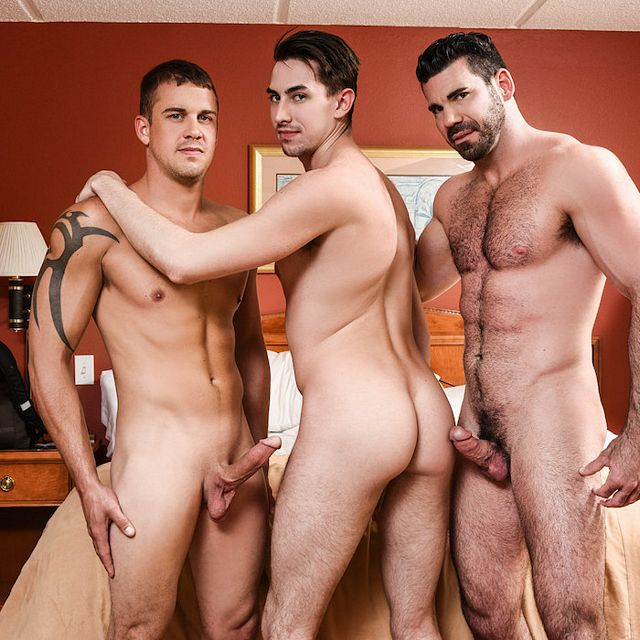 Darin Fucks Jack & Billy | Daily Dudes @ Dude Dump