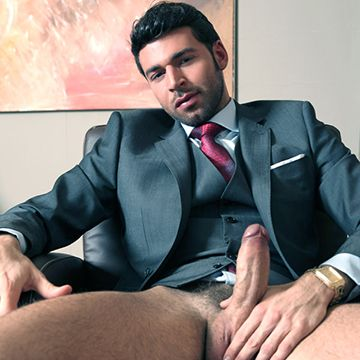 Dario Beck's Office Jack Off | Daily Dudes @ Dude Dump
