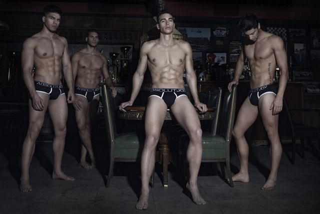 Dark Glam – Underwear & Fashion editorial by Gas | Daily Dudes @ Dude Dump